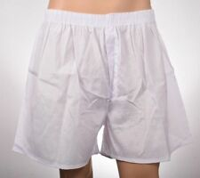 6 Pairs Size XXL 2XL Mens White Underwear Boxer Shorts 2X Extra Large Trunks