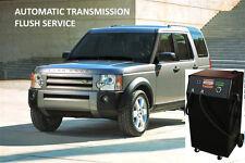 DISCOVERY 3 AUTO BOX  AUTOMATIC TRANSMISSION BOX FLUSH SERVICE