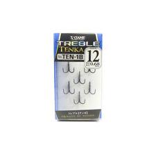 TEN-1B Tenka Treble Hook Size 12 (6632) Sasame