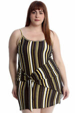 Scoop Neck Dresses Any Occasion Stripes