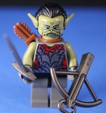 LEGO® LORD OF THE RINGS™ Custom SHARKU™ ORC LEADER + Dark Sword & Crossbow