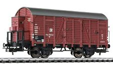 Liliput 235093 Covered Goods Wagon with Brakeman's Cab DR Ep.III HO scale