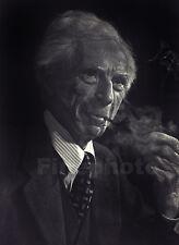 1949 Britain England BERTRAND RUSSELL PORTRAIT Philosophy Math Photo Art ~ KARSH