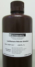 Lanthanum Nitrate Solution 999 Certified 1l