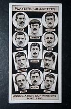 Bury FA Cup 1900 Squadra Vincente originale anni 1930 Foto Carta in buonissima condizione
