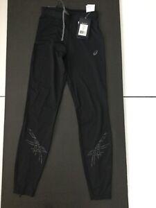 ASICS motiondry  ladies running leggings.  New. Small. Black.