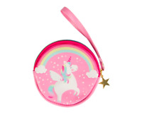 Sass & Belle Rainbow Unicorn Kids Girls Children Coin Purse Money Saving Wallet