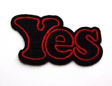 YES Patch Embroidered Iron Sew On  Applique Badge Motif Super hero biker punk