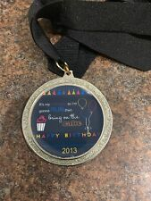 Crown 2013 Birthday Finishers Medal
