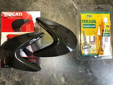 Carbon Tankpads Abdeckung Tankabdeckung tank sliders Ducati Monster 797 1200 S