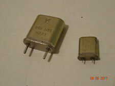Quarze  kHZ - MHz,  1 Stück zur Auswahl