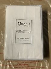 Milano Collection 1000Tc Egyptian Cotton Queen sheet set