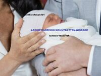 MEGHAN MARKLE Photo 5x7 Royal BABY ARCHIE Harrison Prince Harry England