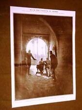 Spedizione d'Italia Libia Tripolitania 1911 Granatieri alla Battaglia di Henni