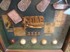 BOBBY JONES BABE ZAHARAIS 15 X 15 WOOD FRAMED GOLF MEMORABILIA RARE