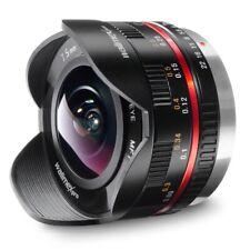 Walimex Pro SAMYANG 7.5mm 3.5 Fisheye schwarz für MFT Mount Ultrawide #2605