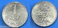 Denmark 1 Ore 1969 Danemark Europe Coin Free Shipping Worldwide Paypal Skrill OK