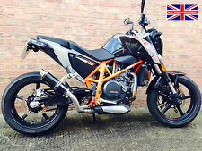 KTM 690 Duke 12-15 SP Engineering Satin Black Stubby Moto GP Exhaust