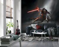 Wall mural photo wallpaper 144x100inch Star Wars Kylo Ren bedroom feature decor