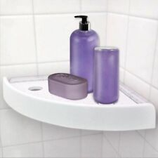 Bathroom Corner Shampoo Soap Towel Storage Holder Shelves