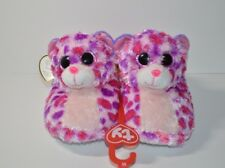 ef469e8b42d Glamour Ty Beanie Boos Slippers Size 2 3 Medium New with Tags