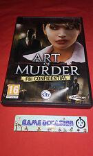 ART OF MURDER FBI CONFIDENTIAL PC CD-ROM PAL