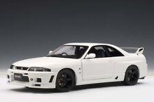 Nissan Skyline GT-R R-Tune R33 V-Spec Matt White 1:18 AUTOart 77325 NEW RARE