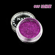 06# Charm Purple Glitter Makeup Loose Powder Eyeshadow Beauty Eye Shadow Pigment