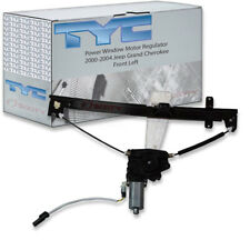 TYC Front Left Power Window Motor and Regulator Assembly for 2000-2004 Jeep fz