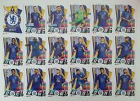 2020/21 Match Attax UEFA Champions League - Chelsea team set (18 cards)