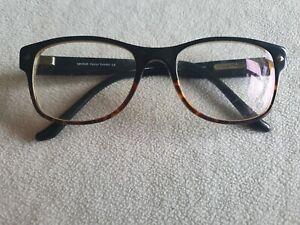Lyle & Scott black glasses frames. CLOBER.