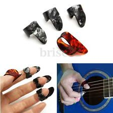 Plastic Adjustable 3 Finger Picks 1 Thumb Picks Set Nail Guitar Plectrums Guitar
