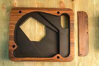 Plinth for Thorens TD 124, TD 121 premium matt palisander (rosewood) + armboard