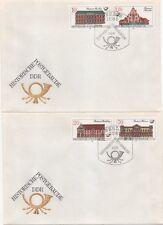 """3067/70 """"Historische Postgebäude"""" FDC"""