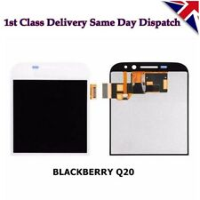 Blackberry Classic Q20 Complete LCD Screen Display Touch Screen Digitizer White