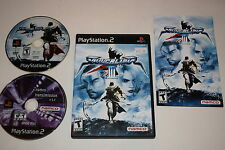 Soul Calibur III Sony Playstation 2 PS2 Video Game Complete