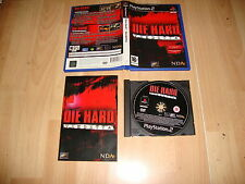 DIE HARD VENDETTA DE VIVENDI PARA LA SONY PLAY STATION 2 PS2 USADO COMPLETO