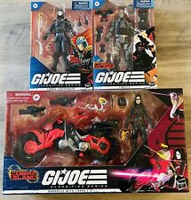GI Joe Classified Series Baroness W/ Cobra C.O.I.L. Motorcycle/ Firefly & Cobra