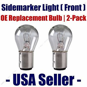 Sidemarker (Front) Light Bulb 2pk - Fits Listed Merkur Vehicles - 1157