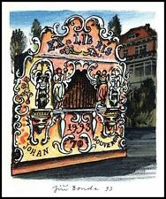 Bouda Jiri 1993 Exlibris L1 Bookplate Architecture Prague s131