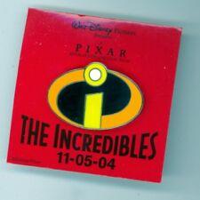 Sdcc Disney Pixar The Incredibles Logo Movie Premiere November 5, 2004 Pin