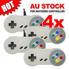 4x JoyPad For Super Nintendo SNES Controller USB GamePad NES Windows PC Emulator