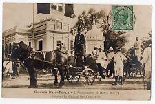 CARTOLINA 1912 GUERRA ITALO TURCA L' AMMIRAGLIO BOREA RICCI RIF 9878