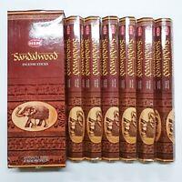 Original Hem Sandalwood Incense 120 Sticks - Bulk Pack of 6 x 20 Stick