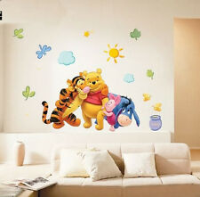 Wall Stickers small Winnie the pooh Removable Decal Art Baby Room decor kids