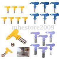 48 Type 2/3/4/5/6 Series 211-631 Airless Paint Sprayer Spray Gun Tips Universal