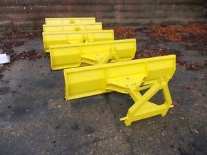 1.5 meter wide compact tractor snow plough kubota john deere