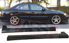 Side Skirt Set for 2002 -2006 Nissan Sentra RS Style Unpainted Black Plastic