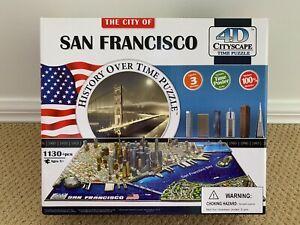 4D Cityscape Time Puzzle - San Francisco 1130pc (not Ravensburger)