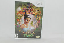 Wii Nintendo - The Princess and the Frog - Video Game